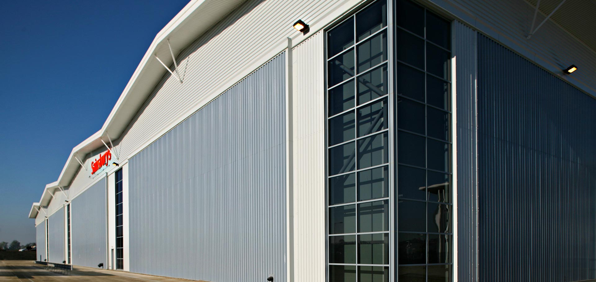Sainsbury Distribution Center Pineham