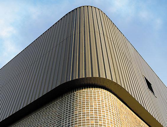 Solar Wall Building