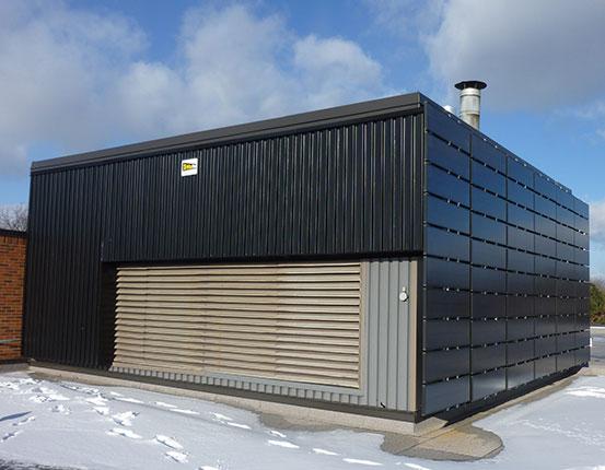 Solar Wall Office